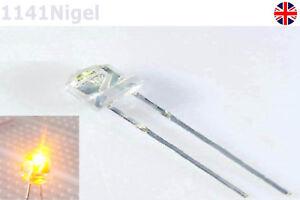 2-2.2V F5 5mm Yellow Straw Hat Superbright LED Light LED lamp  .