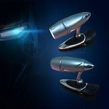 Novelty Adjustable LED Bullet Shaped Clip On Book Reading Spot Light Lamp Light