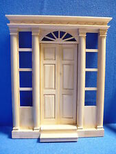 "Dolls House DIY  1/12 scale    Grand Front Door  11 1/8""high      DHD2037"