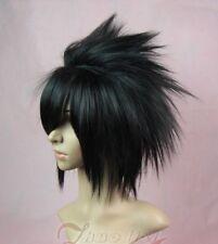 Hot ! Short Uchiha Sasuke black Anime Cosplay wig wigs