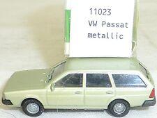 VW Passat anno di cost. 1981 verde metallico IMU EUROMODELL 11023 H0 1:87 #4#GA