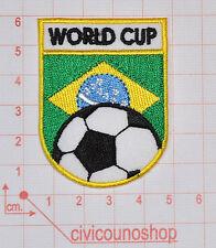 Toppe Patch Termoadesive - Toppa scudo World Cup - Mondiali Brasile 2014