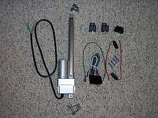 "6"" Power Linear Actuator Switch Harness & Bracket trunk hood tonneau street rod"