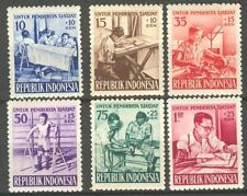INDONESIA 1957 ZBL 189-194  MNH