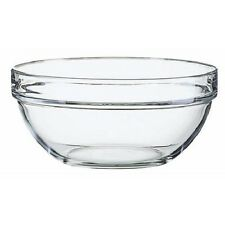 "Luminarc Stackable Kitchen Prep Glass Bowls   7-3/4""   SET OF 2    (42089)"
