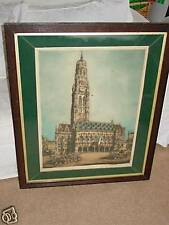 Beautiful Original Etching by artist William Monk - signed