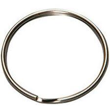 """New Hy-Ko Kb105 Pack Of (100) 1"""" Size Rust Resistant Split Key Rings Sale"""