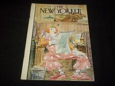 1950 APRIL 15 NEW YORKER MAGAZINE - BEAUTIFUL FRONT COVER FOR FRAMING- J 1295