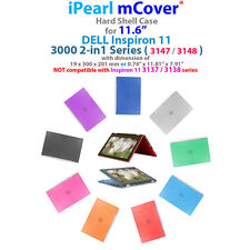 "NEW iPearl mCover® Hard Case for 11.6"" Dell Inspiron 11 3147 3148 2-in-1 laptop"