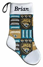 Personalized NFL Jacksonville Jaguars Football Christmas Stocking Embroidered
