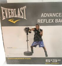 Everlast Freestanding Reflex Bag Exercise Boxing MMA Training Health Fighting