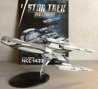 Star Trek Discovery Starships Collection Eaglemoss #7 U.S.S. Buran NCC-1422 NEW