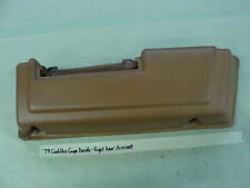 79 Cadillac Coupe Deville Phaeton RIGHT PASSENGER SIDE REAR PANEL ARM REST 2 DR