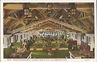 Yellowstone Park, WYOMING - Grand Canyon Hotel - Lounge - ARCHITECTURE