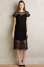 NWT - ANTHROPOLOGIE  MYNE Anya Lace Dress - size 0 MSP $258
