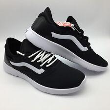 """Vans Men/Women's Shoes """"Iso Route--(Staple) Black/True White"""