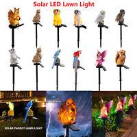 Outdoor Solar Power Garden Lights Decor Path Lawn Lamp Yard LED Landscape Lights