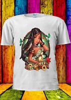 Disney Princess Pocahontas Matoaka T-shirt Vest Tank Top Men Women Unisex 236