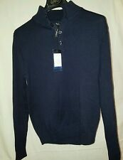 LUCIANA NATAZZI COUTURE MENS, M, NAVY, COTTON, SWEATER