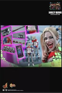 Hot toys Harley quinn MMS386 1/6 Figure excellent condition rare