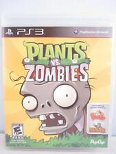Plants Vs. Zombies PS3 Complete Bonus Games Peggle Heavy Weapon Working Great