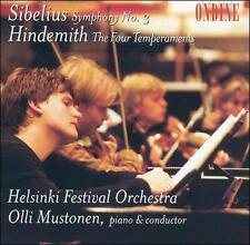 Symphony 3 / Four Temperaments, HINDEMITH / SIBELIUS, New