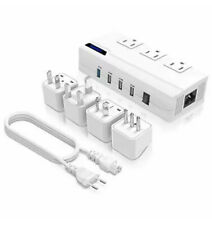 Universal Travel Adapter, Power voltage Converter All-in-One 220V to 110V