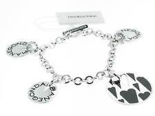 PIANEGONDA bracciale argento e charms Cloison D'Amour referenza BA010850 new