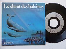 JEAN BERIAC Le chant des baleines GREENPEACE  Dessin YVON PANHALEUX   RRR