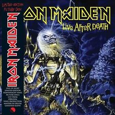 Iron Maiden LIVE AFTER DEATH, 180g Pic Disc 2LP, UK IMPORT Collectors ed. RARE