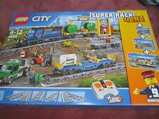 Lego City 66493 Remote Control Cargo Train Station Tracks and Power Functions