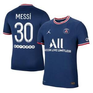 2021/22 Paris Saint-Germain FC Home Shirt PSG Home Jersey for Men (Messi 30)