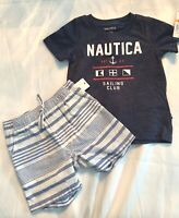 3T XL NWT KIDS BOYS NAUTICA 3 PIECE SET JACKET PANTS OUTFIT SZ 2T