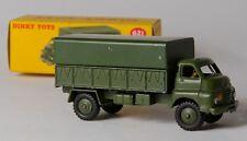 Dinky 621 3-Ton Bedford 'RL' Army Wagon with Tin Tilt. Boxed. Original 1950's