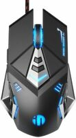 Gaming Mouse, Adjustable DPI, 7 Programmable Buttons, Color lighting, Ergonomic