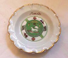 """Small Plate Goumot-Labesse Limoges French Puerto Rico """"Joannes Est Nomen Ejvs"""""""