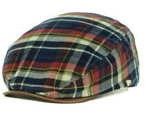 Licensed New Era EK Plaid Driver Gatsby Beret Adjustable Hat Red Plaid ______B35