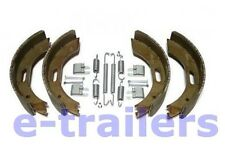 "BPW STYLE 200x50mm CARAVAN & TRAILER BRAKE SHOES- AXLE SET- TYPE 7 FOR 8"" DRUM"