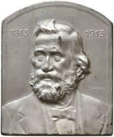 s929) Giuseppe Verdi (1813-1901) - Medaglia 1913 MB mm 50x55