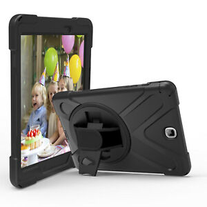 KIQ Galaxy Tab A Case, Heavy Duty Armor Hybrid Rugged For Samsung Galaxy Tab A