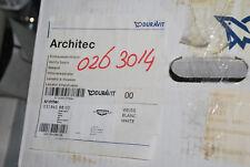 DURAVIT 0703500000 ARCHITEC HANDWASCHBECKEN D 40 cm ÜBERLAUF OHNE HAHNLOCH WT