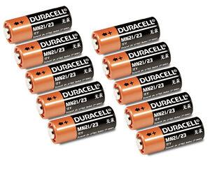Batterie 12V A23 23A LR23A MN21 V23GA DURACELL Frisch 1-10 Stk. Auswahl