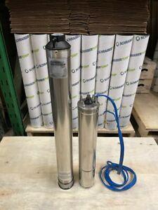 Factory Refurbished Schraiberpump Model 4C2222 4hp 2wire+Ground 230V , 20GPM
