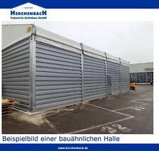 Gebrauchte Leichtbauhalle 10 x 20 x 4,4m Schneelasthalle Lagerhalle Trapezblech