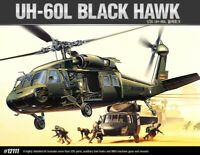 Academy 1/48 UH-60L Black Hawk Helicopter Military Plastic Scale Model Kit 12111