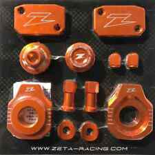 Zeta Racing MX Motocross Billet Bike Kit - KTM EXC/EXCF - Orange