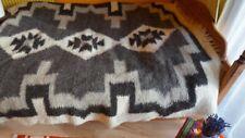 Handmade Sheep Wool Blanket/Throw/Rug/Ethnic blanket/Handwoven bedspread/Lizhnyk