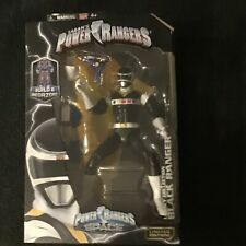 "Power Rangers Legacy Collection(Bandai 2017) In Space Black 7"" Action Figure"