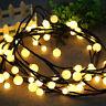 72 LED Waterproof String Fairy Light  Decor Lights for Bistro Cafe Christmas US