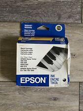 Epson SO20187 / SO20093 Black Ink Cartridge Stylus 400 500 600 Photo 700 1200